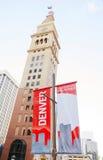 Denver begrüßt Sie Zeichen Lizenzfreie Stockfotos