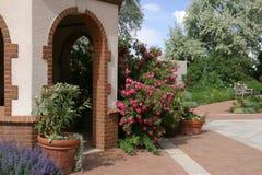 Denver Botanical Gardens. A scene from Denver Botanical Gardens Stock Photo