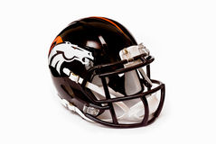 Denver broncos helmet Stock Photography