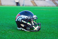 Denver broncos helmet Royalty Free Stock Images