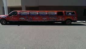 Denver Broncos limo Stock Images