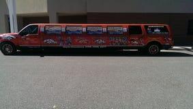 Denver Broncos-Limousine stockbilder