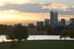 Denver céntrica Fotos de archivo