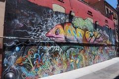 Denver céntrica Foto de archivo libre de regalías