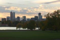 Denver céntrica Fotos de archivo libres de regalías