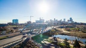 Denver céntrica imágenes de archivo libres de regalías