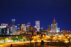 Denver céntrica, Colorado Imágenes de archivo libres de regalías