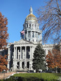 Denver Capitol Building Colorado, USA Arkivbilder