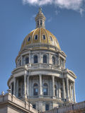 Denver Capitol Building Dome. A color HDR image of a government building in Denver's historic area Stock Photography