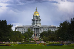 Denver Capitol in Summer Royalty Free Stock Images
