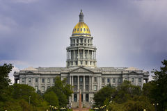 Denver Capitol Summer 2010 Royalty Free Stock Image