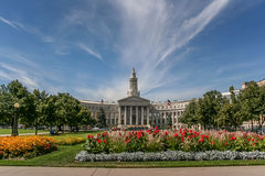 Denver city and county building in Colorado Stock Photos