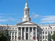 Denver City Hall Royalty Free Stock Image