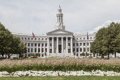 Denver City Hall Stock Photo