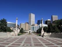 Denver Civic Center Park - Greek Amphitheater Royalty Free Stock Photo