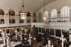Denver, CO/U.S.A.: Colpi editoriali della stazione ferroviaria del sindacato durante le ferie di Natale fotografie stock