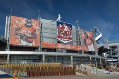 DENVER, CO, U.S.A. - 8 ottobre 2016: Campo di autorità di sport a mil immagini stock libere da diritti