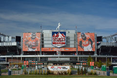 DENVER, CO, USA - October 8. 2016: Sports Authority Field at Mil Royalty Free Stock Images
