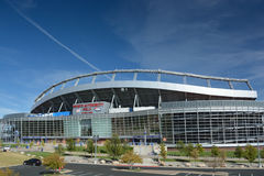 DENVER, CO, USA - October 8. 2016: Sports Authority Field at Mil Stock Photography