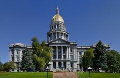 Denver Colorado Campidoglio fotografie stock
