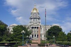 Denver, Colorado - Capitólio do estado imagens de stock