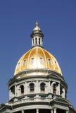 Denver Colorado Capital Building Gold Dome Stock Image
