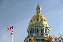 Denver Colorado Capital Building Government Dome Architecture Stock Images