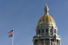 Denver Colorado Capital Building Government Dome Architecture Royalty Free Stock Photo