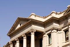 Denver Colorado Capital Building Stone Pillars Royalty Free Stock Images