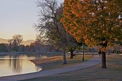 Denver Colorado City Park Foto de archivo libre de regalías