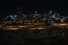 Denver Colorado Cityscape 2018 fotos de stock