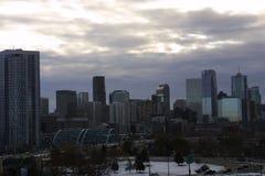 Denver Colorado Cityscape 2018 fotografía de archivo libre de regalías