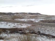 Denver colorado dinosaur ridge Stock Photography