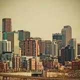 Denver Colorado Downtown Area Stock Image