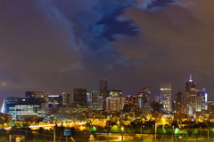 Denver Colorado Downtown Skyline Stock Images