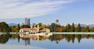 Denver, Colorado Skyline Autumn 2010 Stock Photo