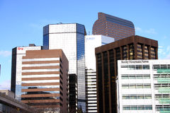 Denver Colorado Skyline Stock Photo