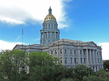 Denver Colorado State Capitol Building Royalty Free Stock Photography