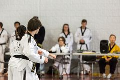 Tae Kwon Do Stock Image