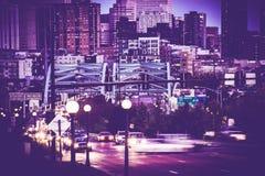 Denver Commute Colorado stock images