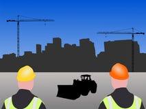 Denver Construction site Stock Image