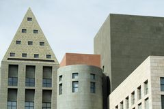 Denver Cultural District Royalty Free Stock Photos