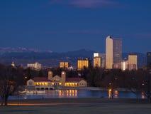 Denver da baixa imagem de stock royalty free