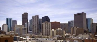 Denver da baixa imagem de stock