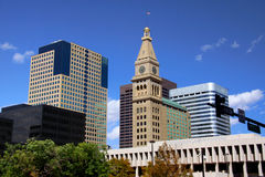 Denver del centro Fotografia Stock