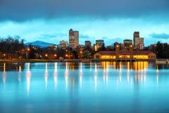Denver del centro, Colorado Immagini Stock