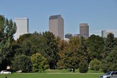 Denver del parque de Cheesman imagenes de archivo