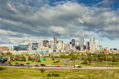 Denver downtown, Colorado Royalty Free Stock Photography
