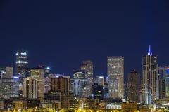 Denver downtown panorama, Colorado Stock Photo