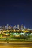 Denver downtown panorama, Colorado Stock Photos